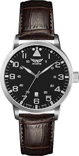 Швейцарские <b>часы Aviator</b> Aircobra <b>V</b>.<b>1.11.0.036.4</b>
