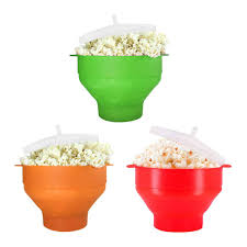 <b>Microwaveable Silicone</b> Popcorn Popper BPA Free Collapsible <b>Hot</b> ...