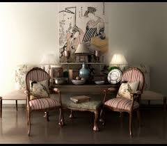 asian living decoration in asian themed furniture