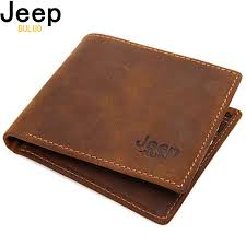<b>JEEP BULUO</b> Luxury <b>Brand</b> Men Wallets Business Cow Genuine ...