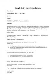 sales resume objective exles sle objectives  seangarrette co s resume objective