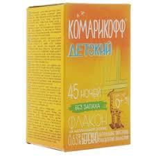 «<b>Жидкость для фумигатора</b> Комарофф <b>Комарикофф</b> Детский ...