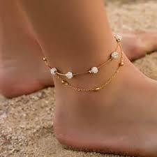 2pcs/set Bohemia Anklets for Women Foot Accessories ... - Vova