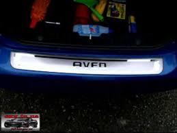 <b>Хромированная накладка</b> на задний бампер Chevrolet Aveo ...