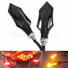 <b>1Pair 12V Universal Motorcycle</b> LED Turn Signal Indicators Blinker ...