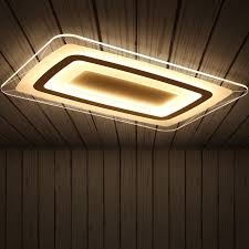 Remote control Surface Mounted <b>Modern Led Ceiling</b> Lights ...