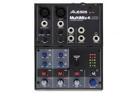<b>Микшерный пульт Alesis</b> Multimix 4 USB купить в Харькове ...