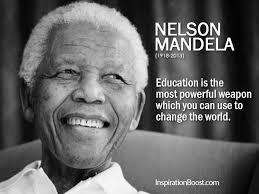Nelson Mandela Education Quotes | Inspiration Boost | Inspiration ...