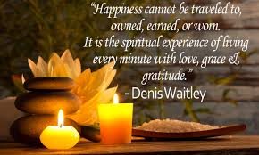 Inspirational Quote: Happiness - Denis Waitley - MY VIEWPOINTS