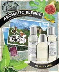 #<b>Kiehls</b> #AromaticBlends <b>Fig Leaf &</b> Sage, complete with a ...