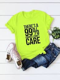 Ad: Plus Neon <b>Lime</b> Slogan Graphic Tee. Tags: Casual, Green ...