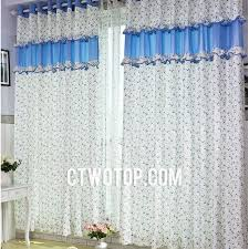 blue floral beautiful romantic living room buy white curtains buy living room