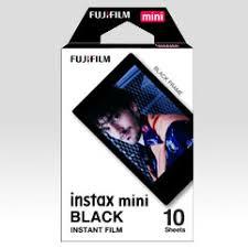 FUJIFILM instax™ Mini Black Film: Overview - Fujifilm USA