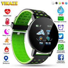 <b>119 Plus</b> Smart Watch <b>Smart Bracelet</b> Heart Rate men watch ...
