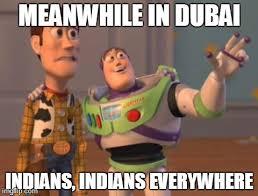 In Dubai - Imgflip via Relatably.com