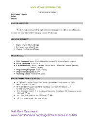 resume examples cover letter in resume for fresher sample basic resume examples latest resume format for mba freshers 2014