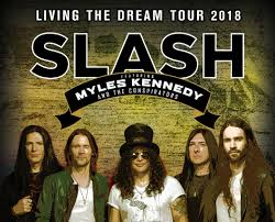 <b>Slash featuring Myles</b> Kennedy and The Conspirators
