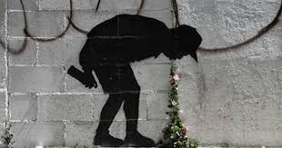 "New <b>Banksy</b> ""<b>throw up</b>"" street art uses flowers in unusual way ..."