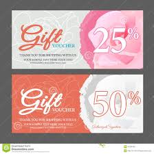 design of voucher and gift certificate stock vector image 58935108 gift voucher gift certificate royalty stock photo