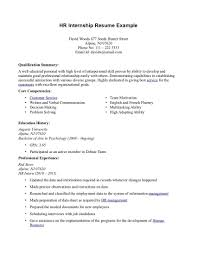 example resumes for internships cipanewsletter cover letter template for write resume samples internship example