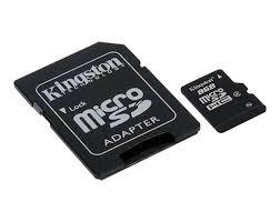 <b>Карта памяти</b> Class 4 <b>MicroSDHC</b> с поставляемым отдельно SD ...