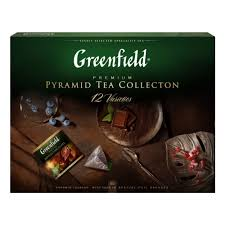 <b>Набор</b> чая GREENFIELD <b>12</b> видов, пакетированный, 60 пак/упак ...