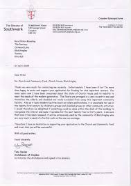 letters of support church house appeal