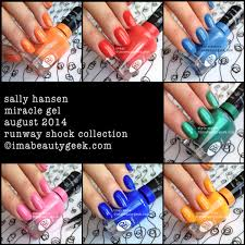 <b>SALLY HANSEN MIRACLE GEL</b> REVIEW + COLOR COLLECTION ...