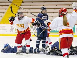 ithaca high girls hockey team reloads youth usa today high ithaca s madison gneo left celebrates a goal against skaneateles last season now departed