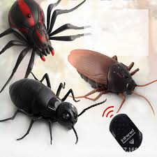 <b>Tricky</b> Infrared <b>Remote Control</b> Cockroach Spider Ant <b>RC</b> Toy Fake ...