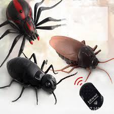 <b>Tricky</b> Infrared <b>Remote Control</b> Cockroach Spider Ant <b>RC</b> Toy Fake ...