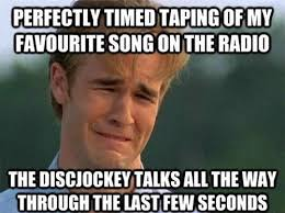 Best of the '90s First World Problems' Meme! | SMOSH via Relatably.com