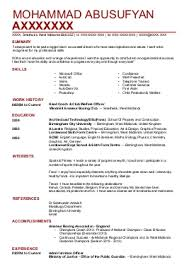 architecture cv examples  amp  templates   livecareermohammad a a    architects cv   smethwick  west midlands