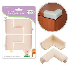 Купить <b>Накладки на углы</b> KewpieCare для мебели, 4 шт с ...