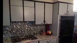Laminate Kitchen Airless Spray Paint Laminate Kitchen Cabinets Youtube