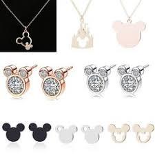 <b>Boosbiy Luxury</b> Women Cartoon Mickey Minnie Stud Earrings ...