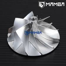 MAMBA <b>Billet Turbo Compressor Wheel</b> K16 Mercedes (44.25/63.5 ...