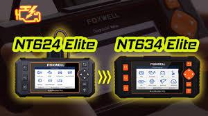 Foxwell <b>Obd</b> - <b>Foxwell NT634</b> 11 Reset functions <b>OBD2</b> Scanner ...