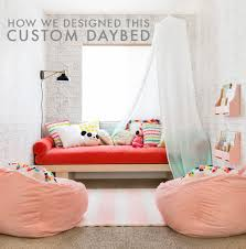 size daybeds bedroom transitional custom daybed a custom daybed story how we designed this custom daybed emily henders