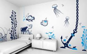 cool wall paint designs top