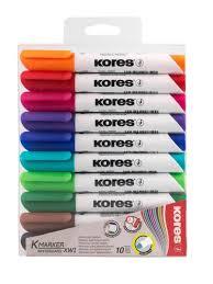"""Набор маркеров для белой доски """"<b>KORES</b>"""", 10 шт. <b>KORES</b> ..."""
