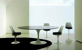design marble tulip dining table