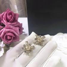 2019 Luxury <b>Fashion</b> Designer Earrings Fine Jewelry <b>Letter Square</b> ...