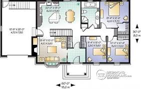 House plan W detail from DrummondHousePlans com    st level bedroom low cost bungalow house plan   built ins  entrance foyer