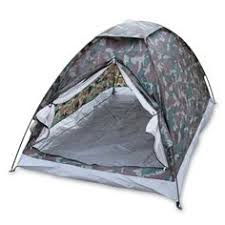 Portable Camping Tent for <b>2 Person</b> Single Layer Outdoor Tents ...