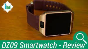 <b>DZ09 Smartwatch</b> Phone - Review en español - YouTube