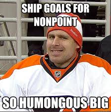 ship goals for nonpoint so humongous big - Ilya Bryzgalov Solid ... via Relatably.com