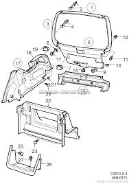 SAAB 9-3 (9400), схема <b>Багажник</b>