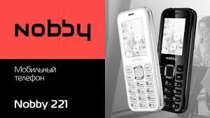 Обзор на мобильный <b>телефон Nobby 221</b> - YouTube