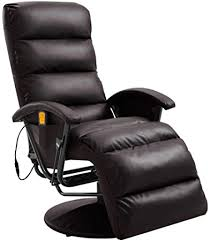 vidaXL <b>TV</b> Massage <b>Recliner</b> Living Room Massaging <b>Chair</b> ...